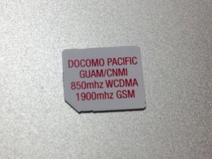 docomo pacific sim