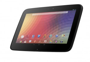 Samsung –Google Unveils the Highest Resolution Tablet Nexus 10